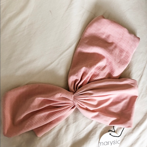 Marysia Swim Other - Med - Marysia NWT Venice bikini top in pink/blush